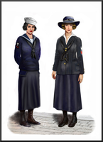 ww1  -  USA Yeomanettes by AndreaSilva60