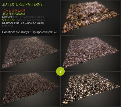 Free textures pack 51 by Yughues