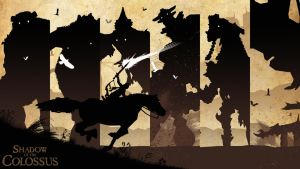 Shadow Of The Colossus PSD Pack by uLtRaMa6nEt1cART