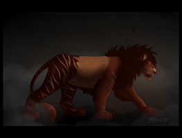 Come for you in the dark WITH SPEED DRAW! by kaimomi