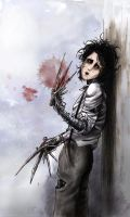 Edward Scissorhands by ReitaWolf