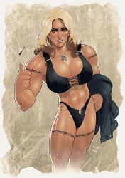 Commission: Barb Wire by redgvicente