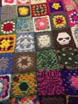 Granny Square Afghan by mintdawn