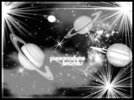 PSP Space Brushes by anodyne-stock