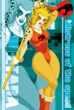 mistress of speed Cheetara by Shayeragal