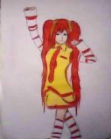 2013 drawing - Lady McDonald :) by nielopena