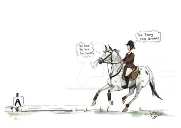 Think Dressage! THINK DRESSAGE! by The-strawberry-tree