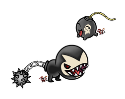 Bomb Fakemon by DraconianQueen
