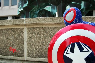 Captain Spiderman (3) by Shecktor-Photography