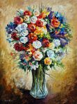 FAVORITE FLOWERS by Leonid Afremov