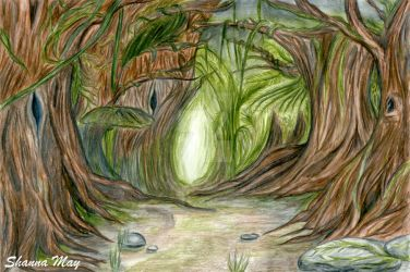 Fantasy Forest by TheArtfulShow