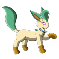 (Birthday) ChanChan, the Leafeon by Umbry17