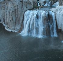 Shoshone Falls Square by Dani-the-Naiad