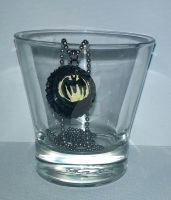Batman Necklace by wolf-girl87