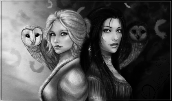 - birds of a feather - by Owlivia