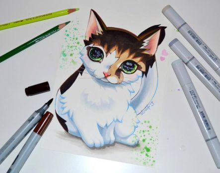 Mini Commission: Marie by Lighane