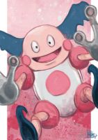 Daily Sketches Mr Mime