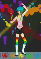 Pretty Rave Boy by akaneshrio