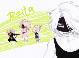 Reita_The Gazette by KaZe-pOn