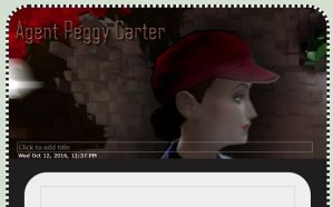 Agent Peggy Carter Journal Skin by SavvyRed