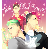 Fairly Odd Parents ft. Mark, Jack and Wade by Ozumii