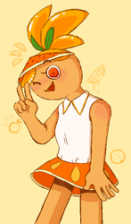 Orange Cookie by SonicMila