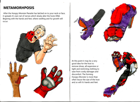 Hungry Monster Attacks Transformation Page 6 and 7 by matthewjamesrann