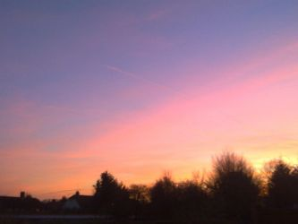 Beautiful sky by chloexlolx