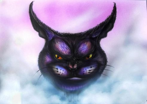 Cheshire cat by angelblack65