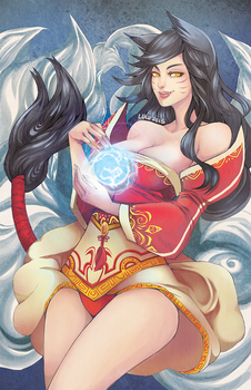 LEAGUE: AHRI by PuddingPie