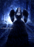 Angel Gotico by DenysDigitalArtwork