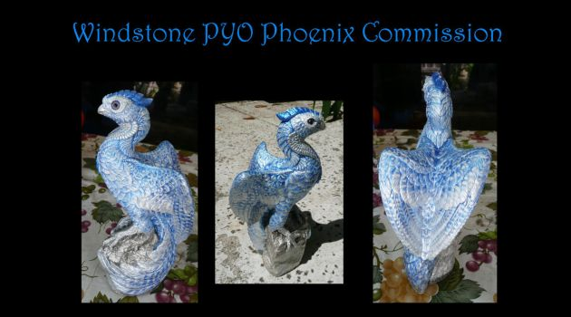 Windstone PYO Phoenix Commission by Eviecats