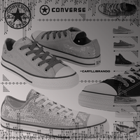 Converse 56 Photoshop Brushes by caryllibrando