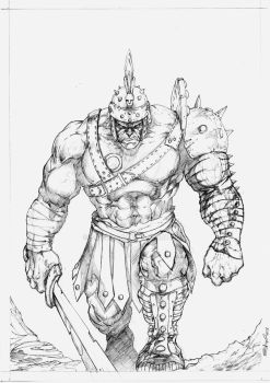 Hulk Gladiator by SaintYak