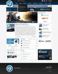 evonity-Gaming Layout by eqL