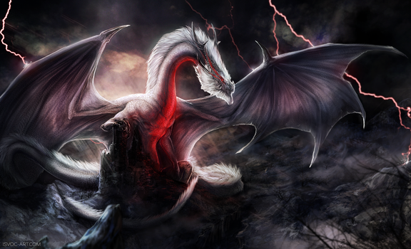 Monster Hunter - White Fatalis by Isvoc