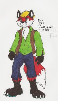 EricFox's new clothes ref by TigerfoxxGamer