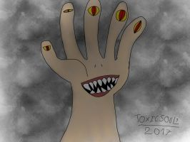 MONSTER HAND by ToxicSoul1