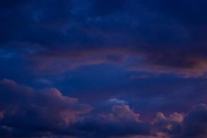 Purple Clouds by Ennev