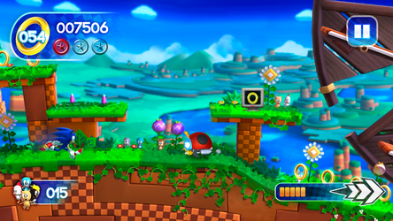 Sonic Runners - Gameplay [FAN MADE] by NathanLaurindo