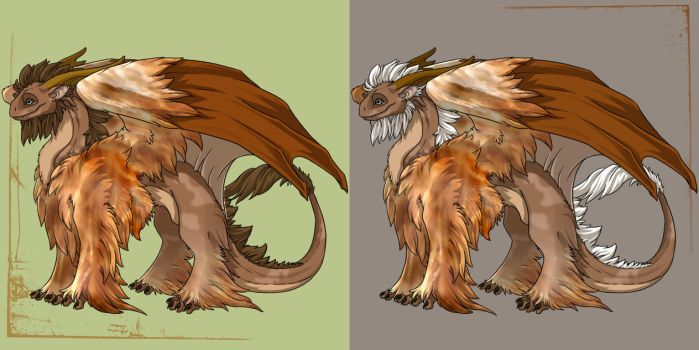 Dry Grass - Female Tundra Skin by LectorEl