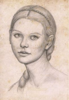 Practice drawing of josephine japy by timwetherell