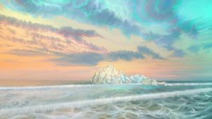 Frozen waves by exobiology