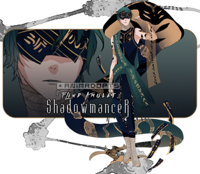 [CLOSED] Blind Amulet Shadowmancer by animadopts
