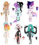 Xynthii: Adopts: Cut-Out: 2/6 OPEN by ObsceneBarbie