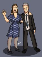 My Best Friend and I :D by Firsher