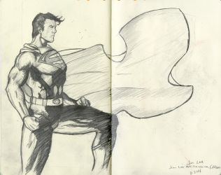 Sketching From Jim Lee by TheDyson