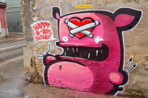 SUSKIS by KIWIE-FAT-MONSTER