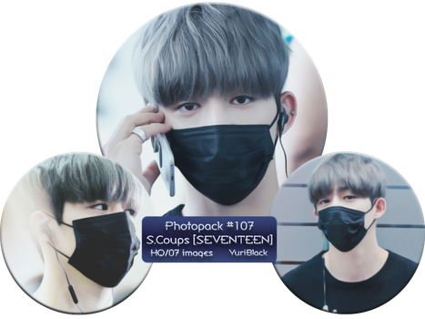 Photopack #107 - S. Coups [from SEVENTEEN] by YuriBlack