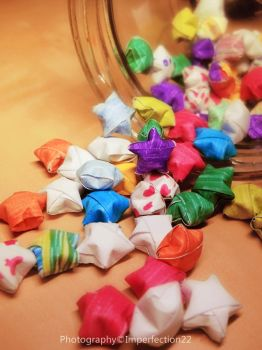 Paper stars by Imperfection22